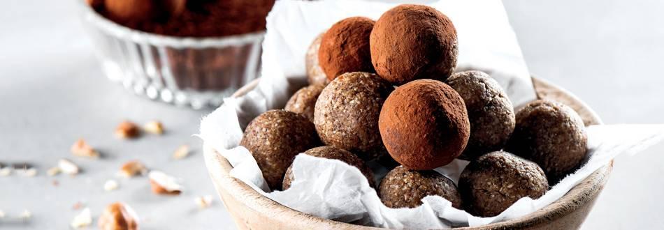Receita Vegan - Energy Balls de Cacau e Laranja