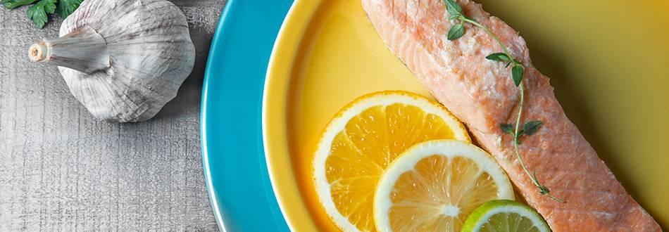 Receita Paleo - Salmão Cítrico no Forno | Cooking Classes