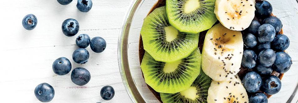 Bowl de chocolate e abacate