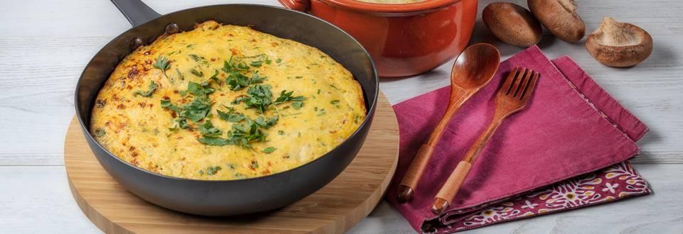 Receita Monsieur Cuisine - Tortilha Espanhola   Cooking Classes
