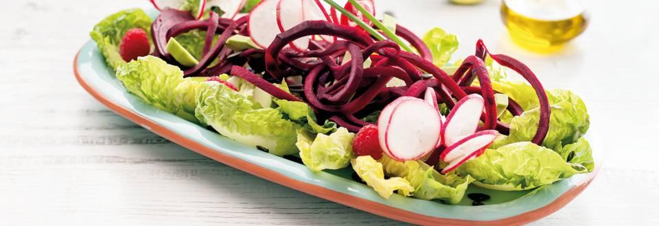 Receita Vegan - Salada Detox