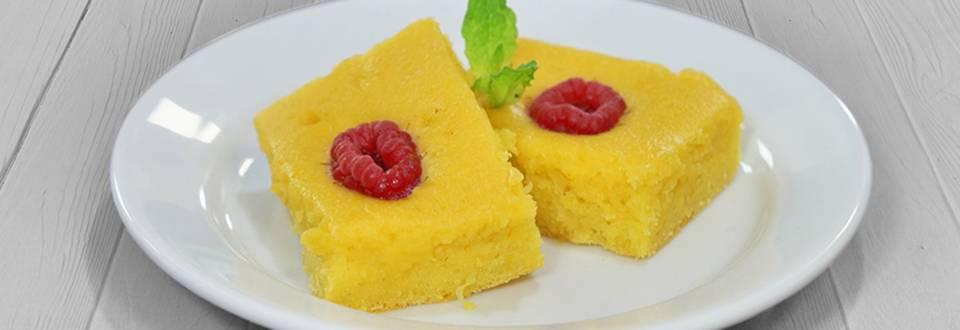 Receita Monsieur Cuisine - Bolo de Laranja e Framboesas | Cooking Classes