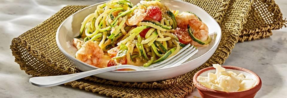 Receita Sem Glúten - Spaghetti de Curgete