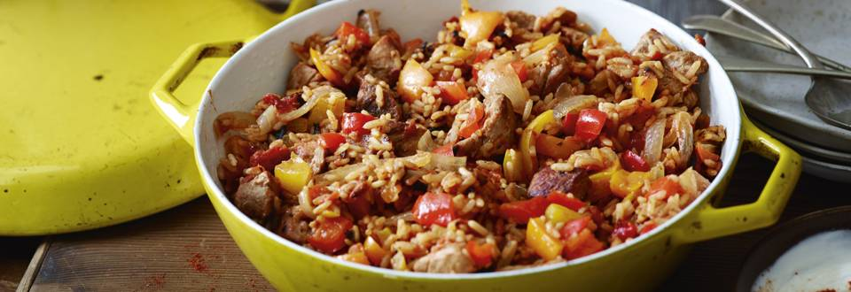 Receita Low Carb - Arroz de Carne dos Balcãs