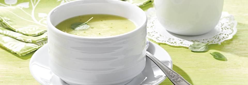 Receita Vegan - Creme de Curgete com Alho Francês