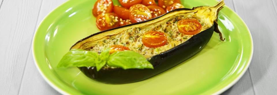 Receita Vegan - Beringela Recheada | Cooking Classes