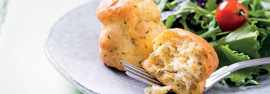 Receita Monsieur Cuisine - Choux de Bacalhau
